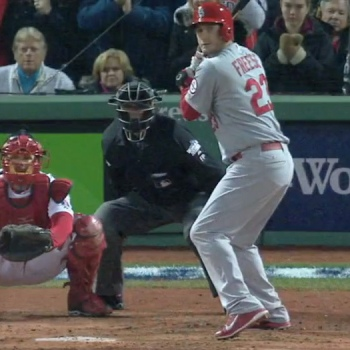 David Freese's Batting Stance
