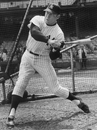 Mickey Mantle's Swing