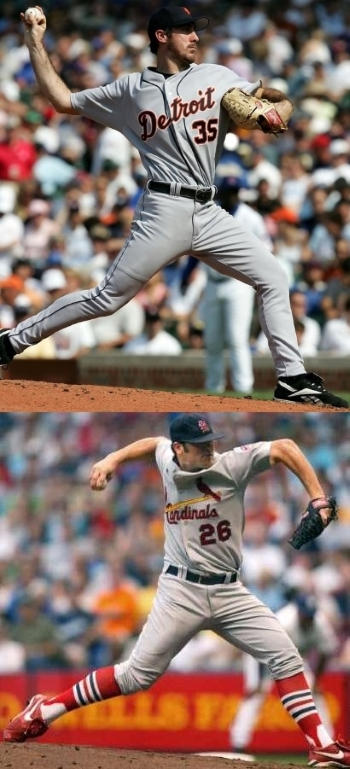 Comparison of Justin Verlander and Anthony Reyes