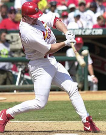Mark McGwire Home Run Swing