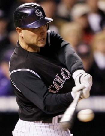 Slugger Matt Holliday will be roaming the outfield for the Oakland Athletics in 2009