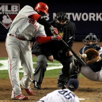 Ryan Howard Home Run Swing