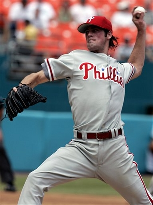 Cole Hamels (9-9, 4.21 ERA) 
